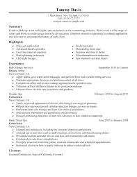 Cosmetology Resume Objectives Best Of Sample Objective On A Resume Goal Statement Example Of Objective