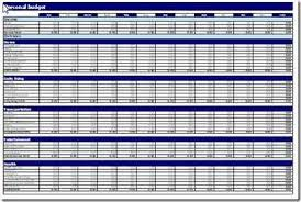 Personal Excel Budget 10 Free Household Budget Spreadsheets For 2019 Budget