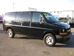 Black 2008 Chevrolet Express 2500 Cargo Van Exterior Photo ...