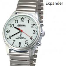 men s women s talking easy to watches for the elderly radio controlled men s talking watch expanding strap