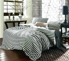 black and white striped duvet cover black and white striped bedding white stripe bedding black and