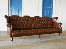barber leather chesterfield sofa abode sofas throughout brown leather chesterfield sofa pertaining to inspire