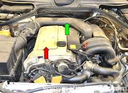 mercedes benz w124 valve cover gasket replacement 1986 1995 e w124 wiring harness repair at W124 Wiring Harness