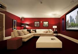 Red Basement and Media Room
