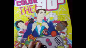 lets take a k coloring books color the 90 s the ultimate 90 s coloring book for s