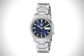 ese precision 12 best seiko watches for men hiconsumption seiko snk793 automatic stainless steel watch blue dial