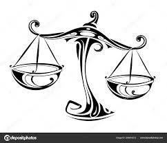 Horoskop Znamení Vah Stock Vektor Akvlv 209618312