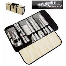 Pochette Couteaux 12 Pieces Inox Pro Schumann Achat Vente