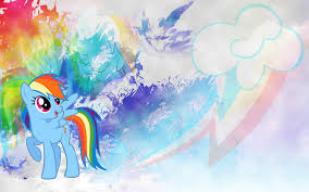 my little pony friendship is magic images rainbow dash wallpaper hd wallpaper and background photos