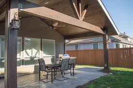 Albany Gable Patio Cover with small Hipped cover
