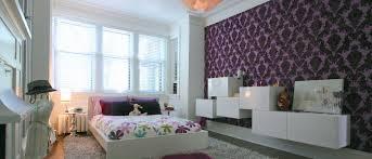 Purple Wallpaper Bedroom Bedroom Wallpaper Ideas