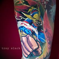 Tattoo Uploaded By Troy Slack All Might Tatuagem Tatuaje