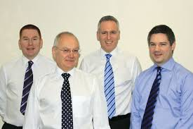 ep morris and company bus coach buyer directors l to r phil lashford edward morris matt hanlon and nick