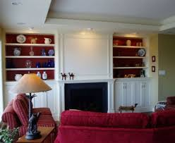 Wooden Cabinet Designs For Living Room Red Sofa Featuring White Wooden Cabinets For Living Room Designs