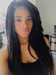 braids long hair styles for black women