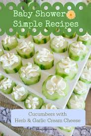 Easy Baby Shower Food Ideas  Baby Shower For ParentsWhat To Serve At Baby Shower