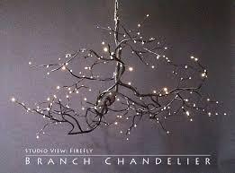 chandelier ideas branch star