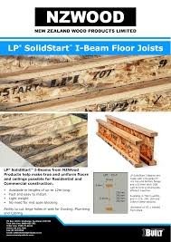 Lp Solidstart I Beam Floor Joists Manualzz Com