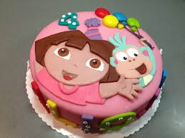 Dora The Explorer Birthday Cake Pinteres