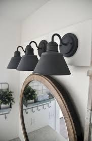 Black Farmhouse Bathroom Lighting Matte Black Gooseneck Light Post Bathroom Fixture Light