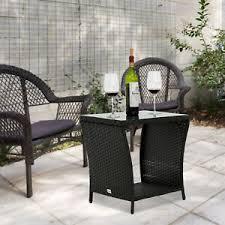 black wrought iron patio garden