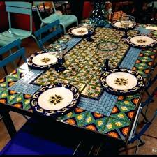 glass table top inch round favorite whole mosaic dining tables 20 topper ideas