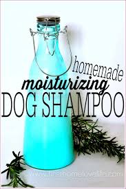 this homemade dog shampoo is super moisturizing and leaves your