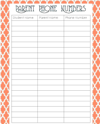 Email Sign In Sheet Name Address Phone Number Template Change