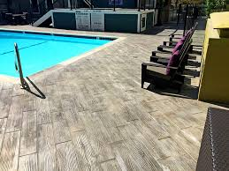 faux wood decorative overlay stamped concrete westcoat plank patio wood stamped concrete patio6 patio