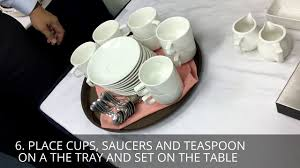 Large tray size w 17.5 x d 11.5 on all objects turbosmooth (render iterations). Coffee Tea Table Set Up Arron Danial Youtube