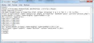 html calculator form membuat calculator via web php networking support