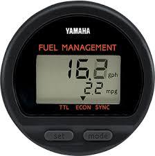 boat rigging digital and analog gauges yamaha outboards 6y5 fuel management meter mechanical rigs