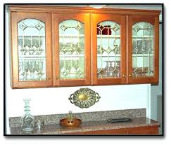 top 86 trendy stained glass cabinet door kitchen doors at new home design inserts for desk cabinets base black wood lateral file large curio bangalore