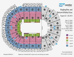 Hp Pavilion San Jose Seating Chart 3d Sap Sharks Seating Hp Pavillion Seating Chart Pink Kings