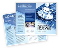 Electronic Brochure Template Medical Records In Electronic Form Brochure Template Design