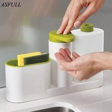 ASFULL <b>Multifunctional Washing</b> Sponge Storage Sink <b>Detergent</b> ...