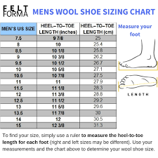 Find Your Size Ethical Wool Felt Shoes Wool Boots Boiled