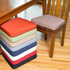 dining chair cushion nearly every dining chair can be made better with a fortable cushion and the deauville 18 x in dining chair cushion is a