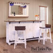 White home bar furniture Coaster Pool Tables Plus Pueblo White Home Bar