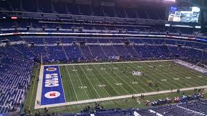 Indianapolis Colts Seating Chart Lucas Oil Stadium Section 544 Indianapolis Colts