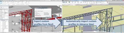 Advance Steel 2018 Extension Revit
