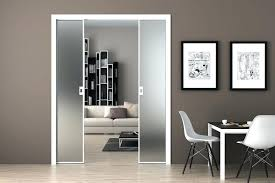 frosted glass sliding door cool doors images best inspiration home within designs 19