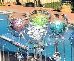 floating wine glass image 0 floating wine glass holder for hot tub