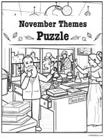 Search the picture for each carefully hidden object that doesn't quite belong. Hidden Pictures Printables Find The Hidden Objects Picture Puzzles Find The Objects Theme