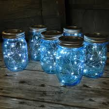 masons mason jars and jars on pinterest blue mason jar string lights