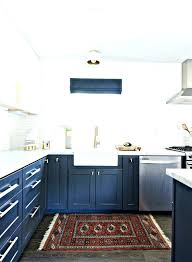 dreaded navy kitchen rug studio favorite ways to pair navy gold kitchen design by makes solid outstanding navy blue kitchen rugs