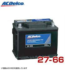 Ac Delco Battery 27 66 European Car For Din Standards Ac Delco Batteries R11 S21