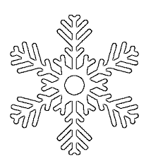 big snowflake free printable snowflake templates large & small stencil on 3 7 8 inch printable template