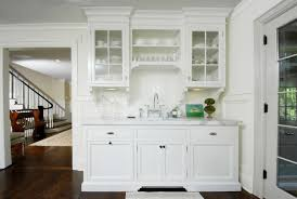 Elegant Kitchen Cabinets With Glass Doors 40 For Your Home In White Glass  Kitchen Cabinet Doors Ideas