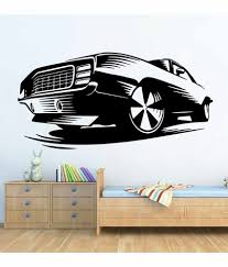 wallskart vintage car vinyl wall stickers wallskart vintage car vinyl wall stickers